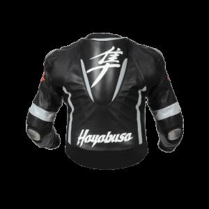 Suzuki Hayabusa Motorcycle Black Leather Jacket