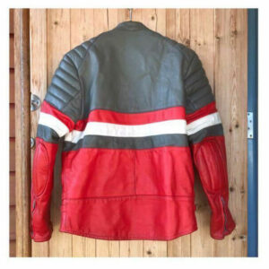 Suzuki Red Black Motorcycle Racing Jacket