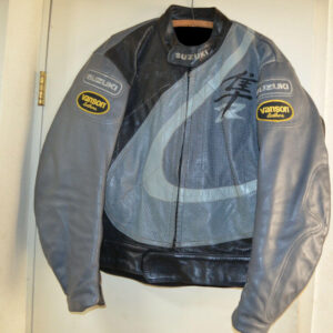Suzuki Vanson Hayabusa Motorcycle Leather Jacket
