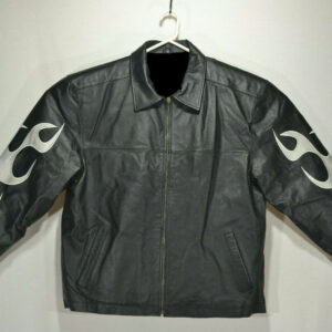 Full Throttle Blue Demon Energy Drink Flame Jacket