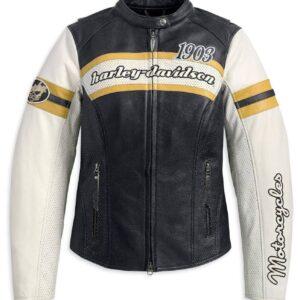 Harley Davidson 1903 Black Riding Leather Jacket