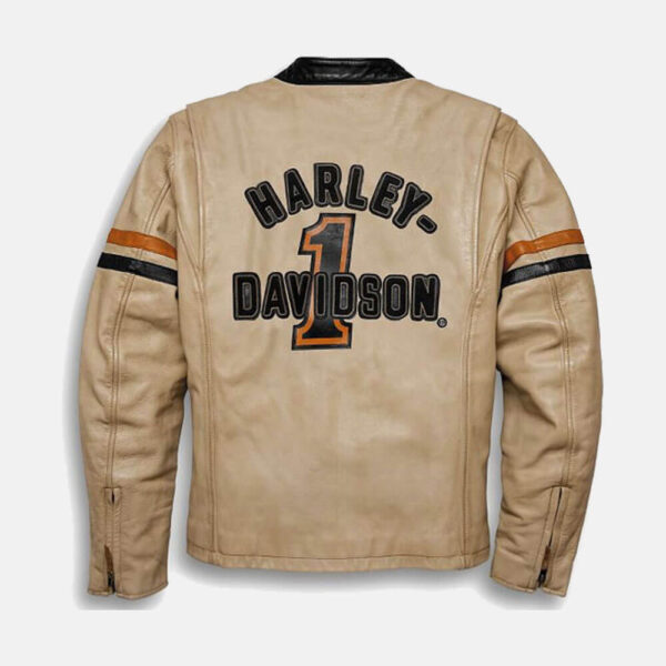 Harley Davidson Black Racing Leather Jacket