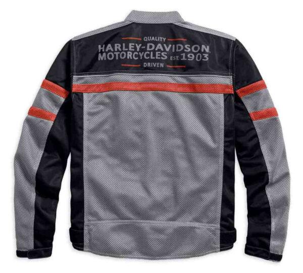 Harley Davidson Diffusion Color blocked Mesh Jacket
