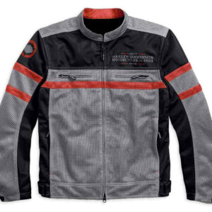 Harley Davidson Diffusion Color blocked Mesh Jacket