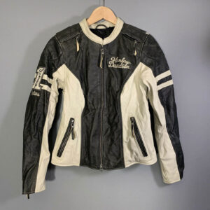 Harley Davidson Dundee Leather Riding Jacket