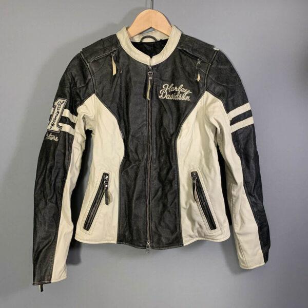 Harley Davidson Dundee Leather Riding Jacket