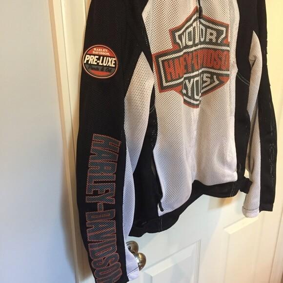 Harley Davidson Men Mesh Riding Jacket