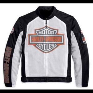 Harley Davidson Men Mesh Riding Jacket