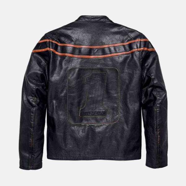 Harley Davidson Motorcycle Double Ton Leather Jacket