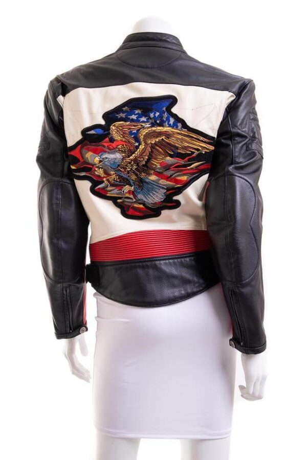 Harley Davidson Rapid City Color Block Leather Jacket