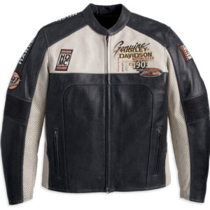 Harley Davidson Regulator Perforated Motorcycle Jacket