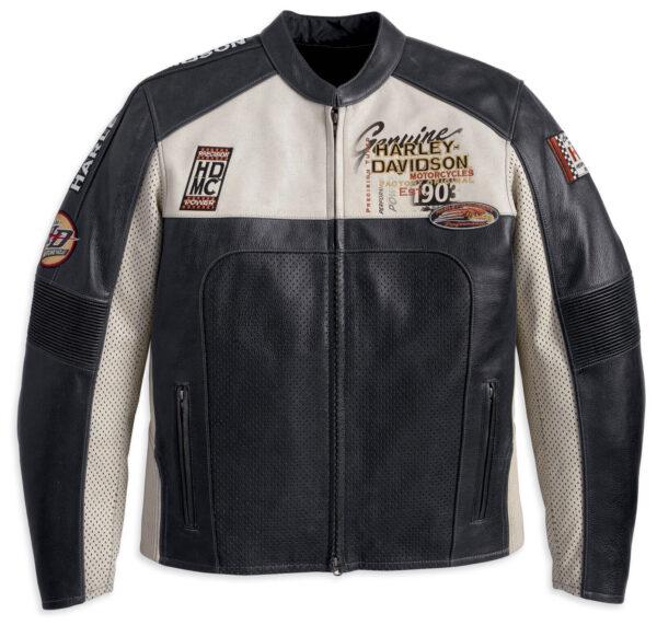 Harley Davidson Regulator Perforated Motorcycle Jacket