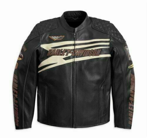 Harley Davidson SPROCKET Racing Perforated Jacket