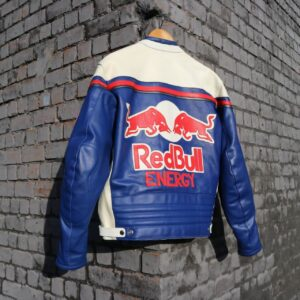 Red Bull Motorcycle Energy Edition Racing Blue Jacket