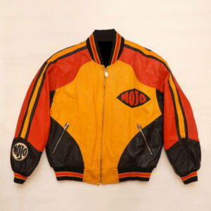 Vintage 1980's MOJO Leather Jacket Michael Hoban