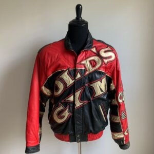Vintage 1990's Gold's Gym Leather Jacket