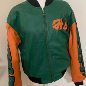 Vintage Just Say No Michael Hoban Leather Jacket