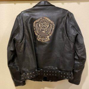 Harley Davidson Black Biker Leather Riding Jacket