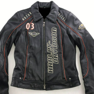 Harley Davidson Coastline Motorcycle Leather Jacket