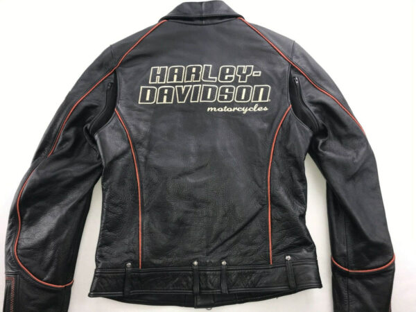 Harley Davidson Coastline Motorcycle Leather Jacket