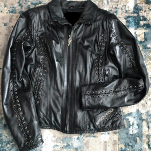 Harley Davidson Gypsy Road Laced Leather Jacket