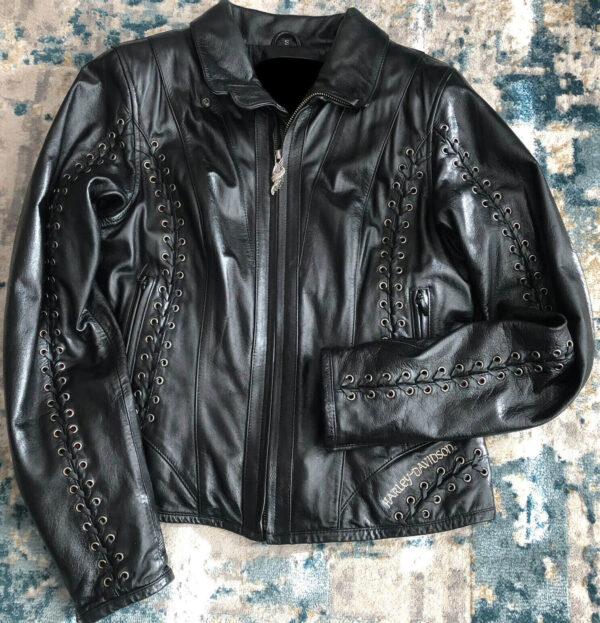 Harley Davidson Gypsy Road Laced Leather Jacket