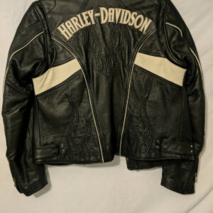 Harley Davidson Hot Spell Black Leather Jacket