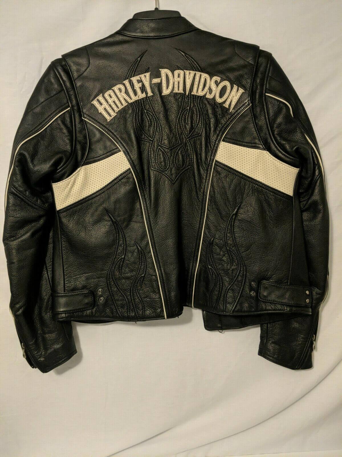 Harley Davidson Hot Spell Black Leather Jacket
