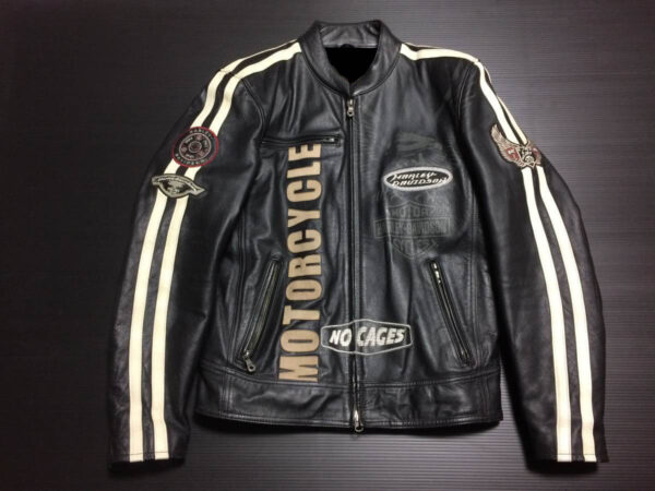 Harley Davidson No Cages Streetwise Motorcycle Jacket