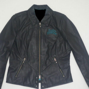 Harley Davidson Turquoise Eagle Arabelle Leather Jacket