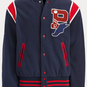 Polo Ralph Lauren USA Patch P Wing Varsity Jacket