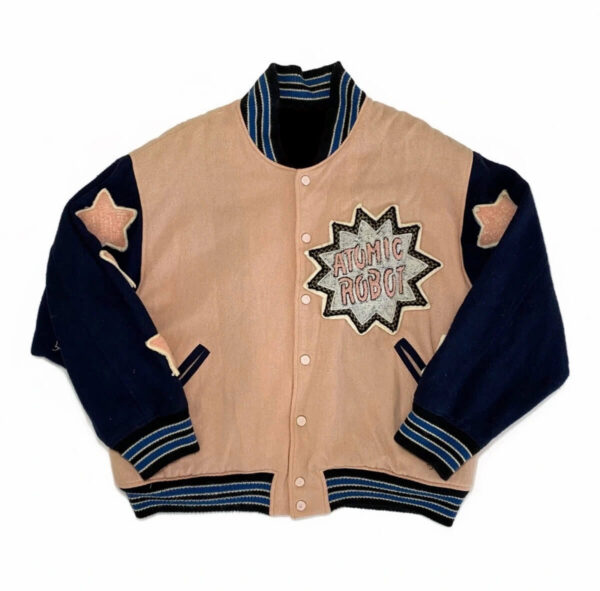 Hysteric Glamour 80's Toy Atomic Robot Varsity Jacket
