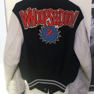 Hysteric Glamour Whoopseedoo Bulldog Varsity Jacket