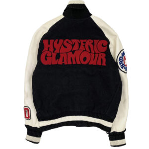Hysteric Glamour X Albion Black Varsity Jacket
