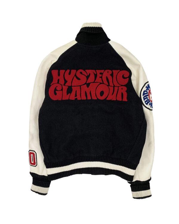 Hysteric Glamour X Albion Black Varsity Jacket