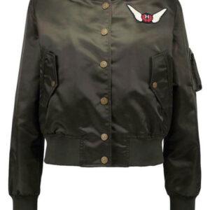 Tommy Hilfiger X Gigi Hadid Embroidered Bomber Jacket