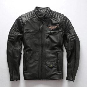 Black Harley Davidson Passion Velocity Leather Jacket