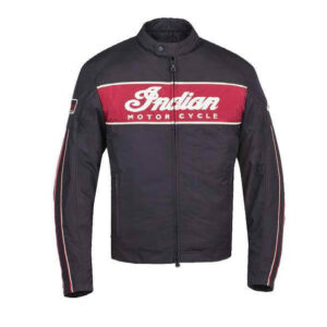 Black Indian Motorcycle Racing 1901 Jacket