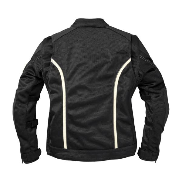 Black Indian Motorcycle Racing Mesh Springfield Jacket