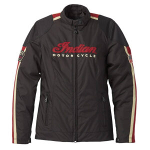 Black Indian Motorcycle Textile 1901 V2 Jacket