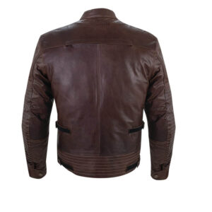 Brown Phoenix Indian Motorcycle Leather Riding Jacket