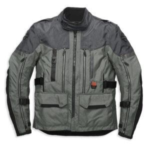 Grey Harley Davidson Grit Adventure Jacket