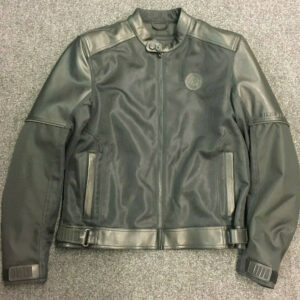 Indian Motorcycle Mesh With Leather Detailing Jacket