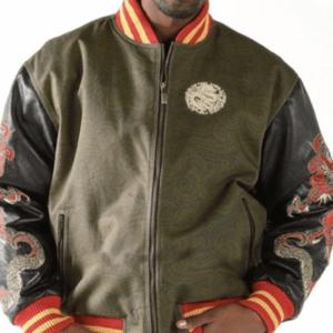 Multicolor Pelle Pelle Dragon Heart Jacket