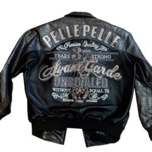 Pelle Pelle Black Vintage Leather Jacket