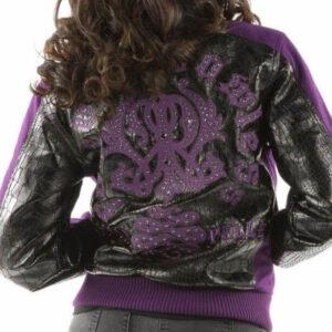 Purple Pelle Pelle Forever Flawless Jacket