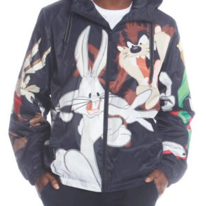 Vintage Looney Tunes Bugs Placement Jacket