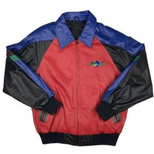 Vintage Pelle Pelle 90s Football Leather Jacket