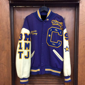 Vintage Road Runner Athletics School Varsity Jacket