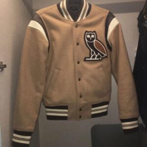 Vintage_Beige_Owl_Varsity_Letterman_Jacket